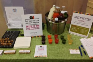 Green Nectar Juicery Sampling Event
