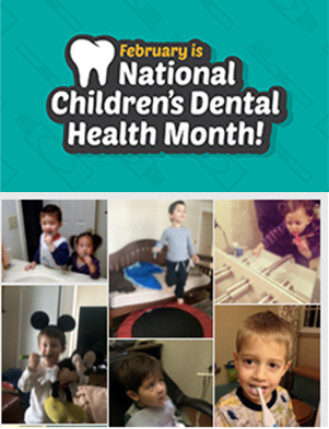 national children dental health month